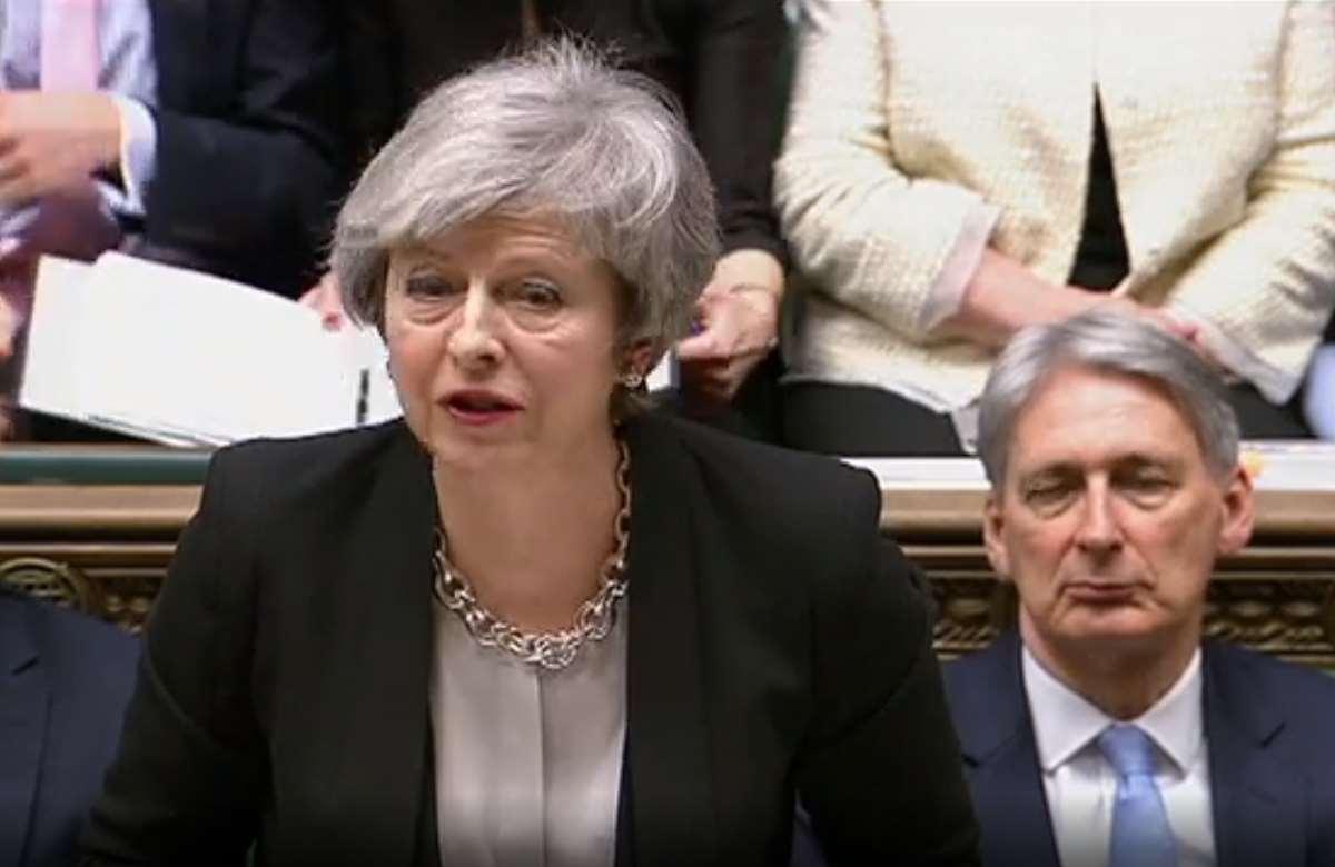 Il Parlamento ha dato alla May il mandato per ridiscutere con l'Ue un'alternativa al backstop