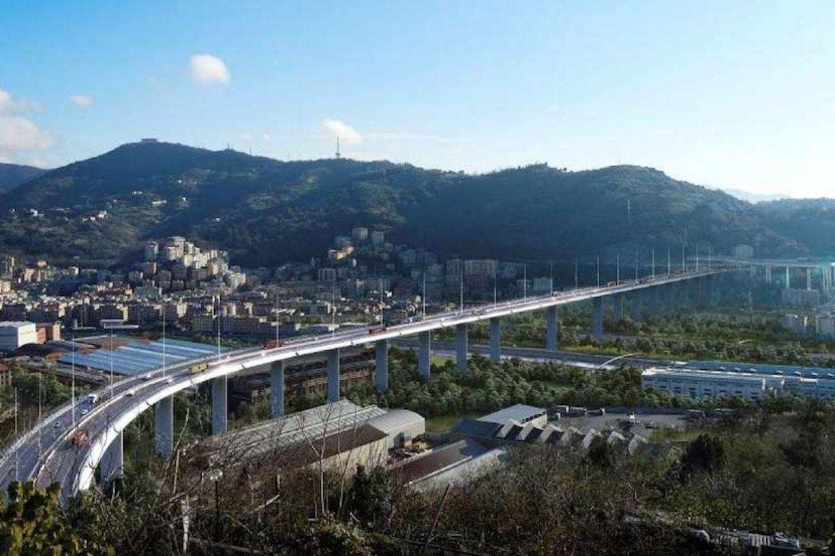 Il nuovo viadotto sul Polcevera sarà aperto al traffico entro il 15 aprile del 2020