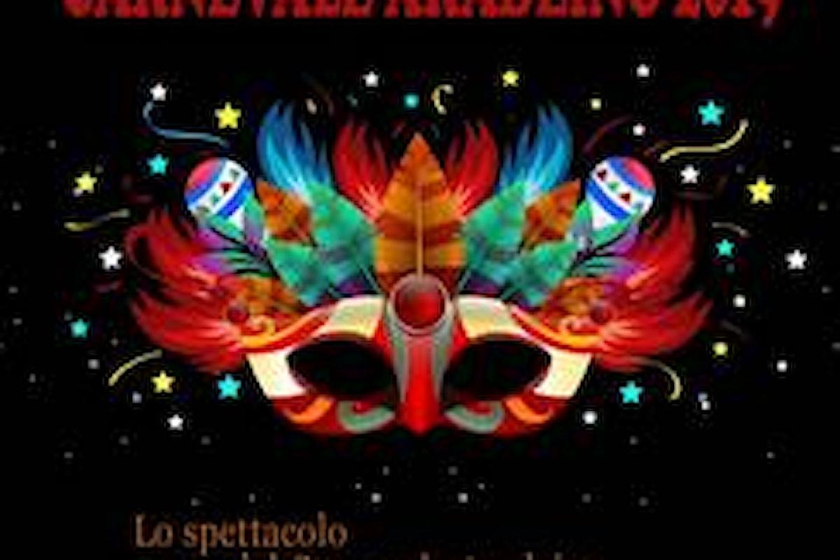 Carnevale Aradeino 2019: 3 e 5 Marzo le sfilate allegoriche, ma le emozioni della kermesse vivranno per 365 giorni tra cultura, arte e spettacolo