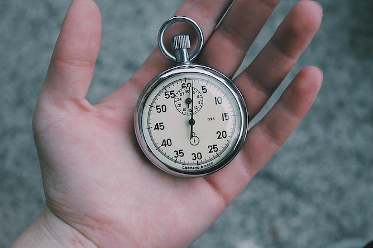 Con l'avanzare dell'età il tempo scorre più in fretta. Lo dicono i fisici!