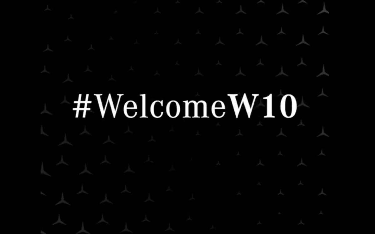 Formula 1, la Mercedes W10 sarà presentata il 13 febbraio