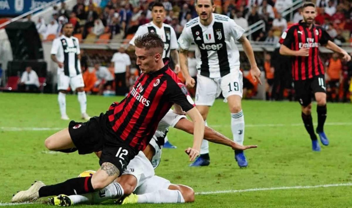 Record di ascolti in tv per la sfida di Supercoppa tra Juventus e Milan