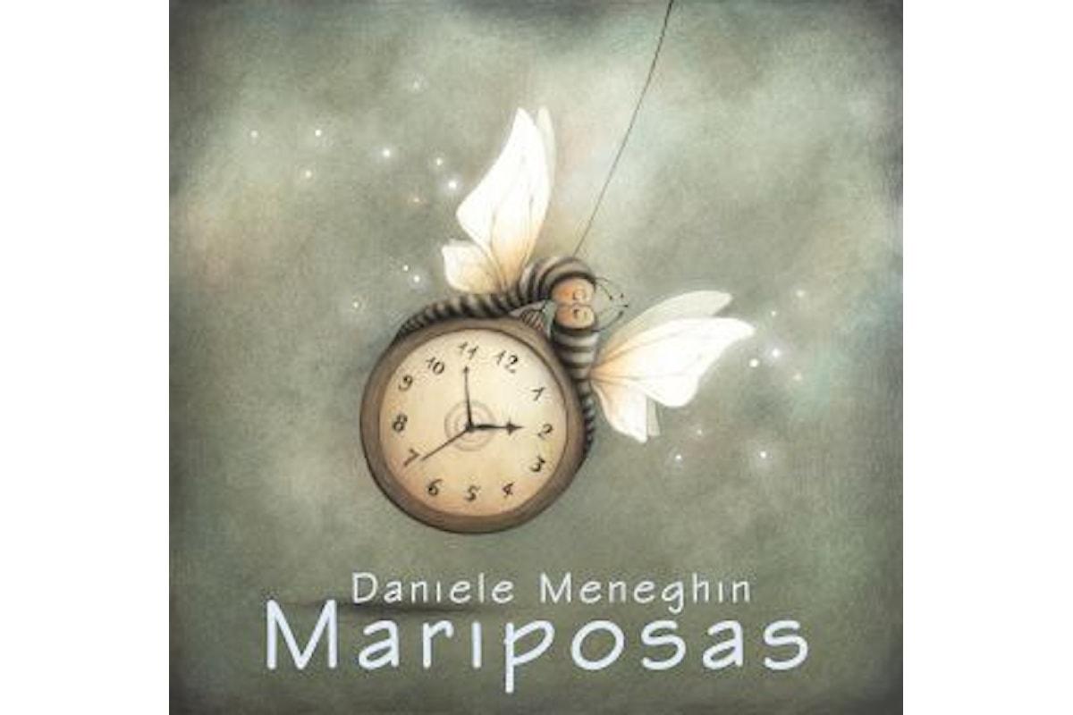 """DANIELE MENEGHIN """"MARIPOSAS"""" è la versione spagnola del singolo Farfalle"""" presente nell'album """"Animali uomini & occasioni"""", una ballad malinconica sulla metamorfosi dell'amore"""
