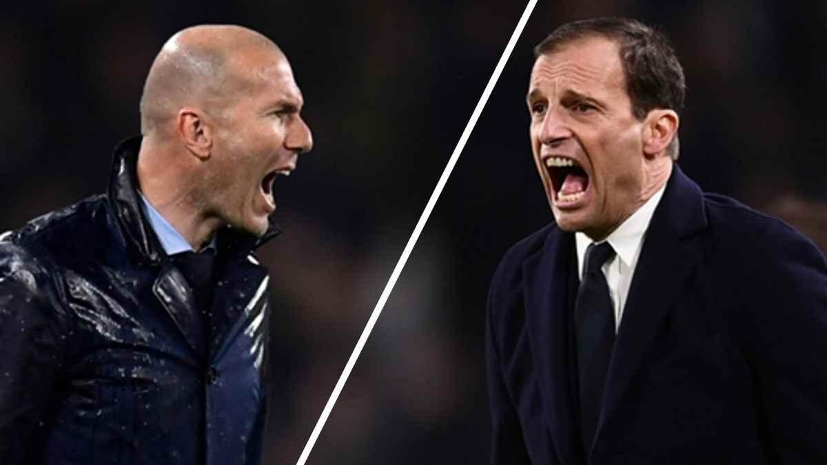 Inizia il valzer degli allenatori: Zidane alla Juventus e Allegri all'Inter?