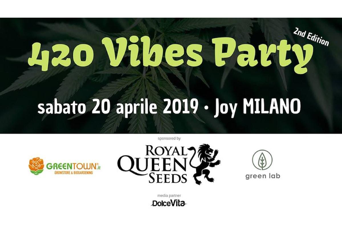 Giornata Mondiale della Marijuana: Ensi presenta la seconda edizione del 420 Vibes Party al Joy Milano