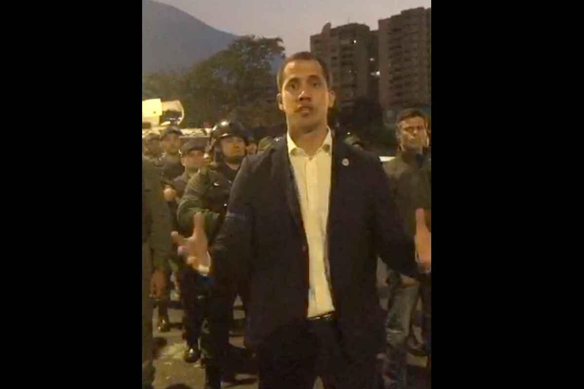 Venezuela: Guaidó tenta il tutto per tutto e annuncia un colpo di Stato contro Maduro