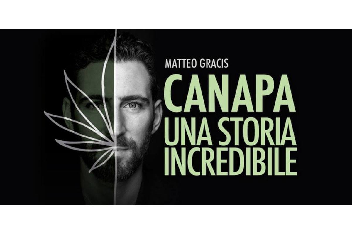 Canapa, una storia incredibile, a Milano la presentazione con l'autore Matteo Gracis