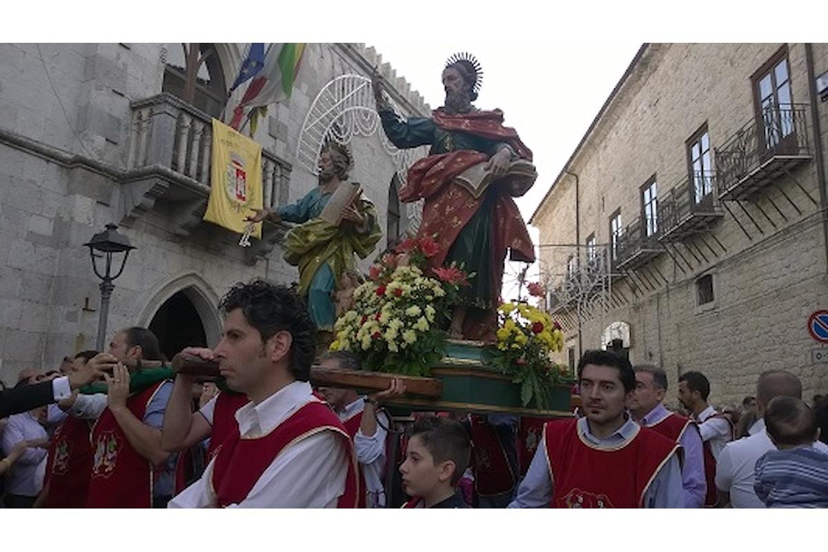 Petralia Soprana festeggia i patroni Pietro e Paolo. Il Borgo dei Borghi sempre in festa