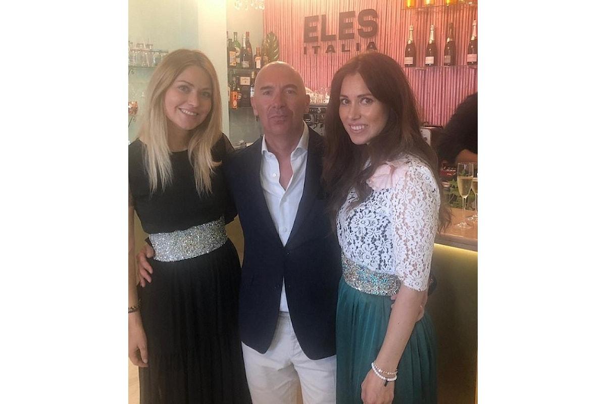 Nella boutique Eles Italia a Porto Cervo, la moda demi couture di Silvia e Stefania Loriga e l'arte culinaria dello Chef Fabio Nurra