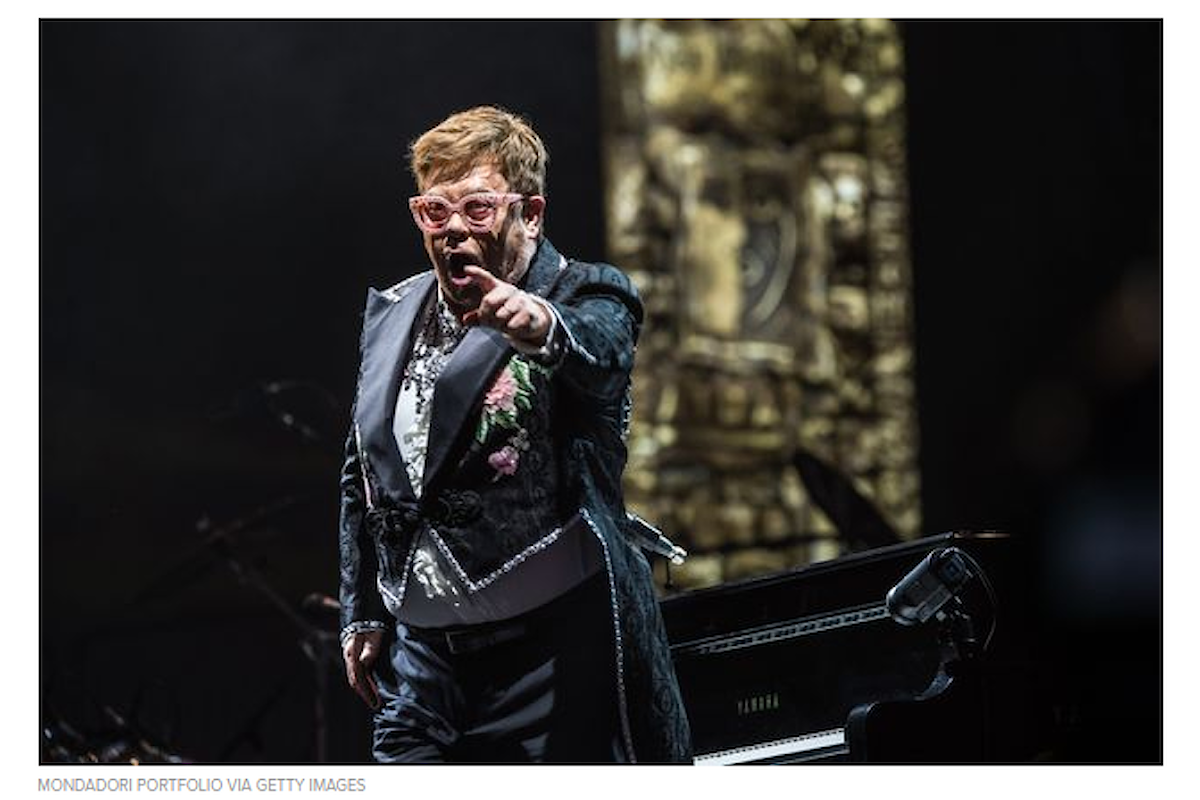 Elton John: Io sono europeo. Non sono un inglese idiota, stupido, coloniale, imperialista
