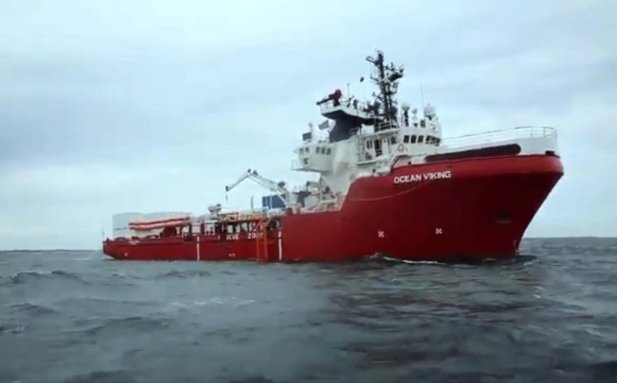 La Ocean Viking di MSF e SOS Mediterranee in navigazione verso il Mediterraneo