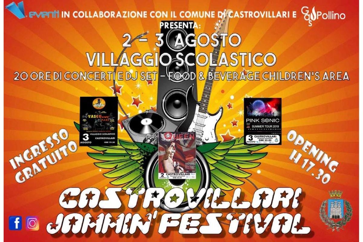 Castrovillari Jammin' Festival, tutto pronto per la prima edizione