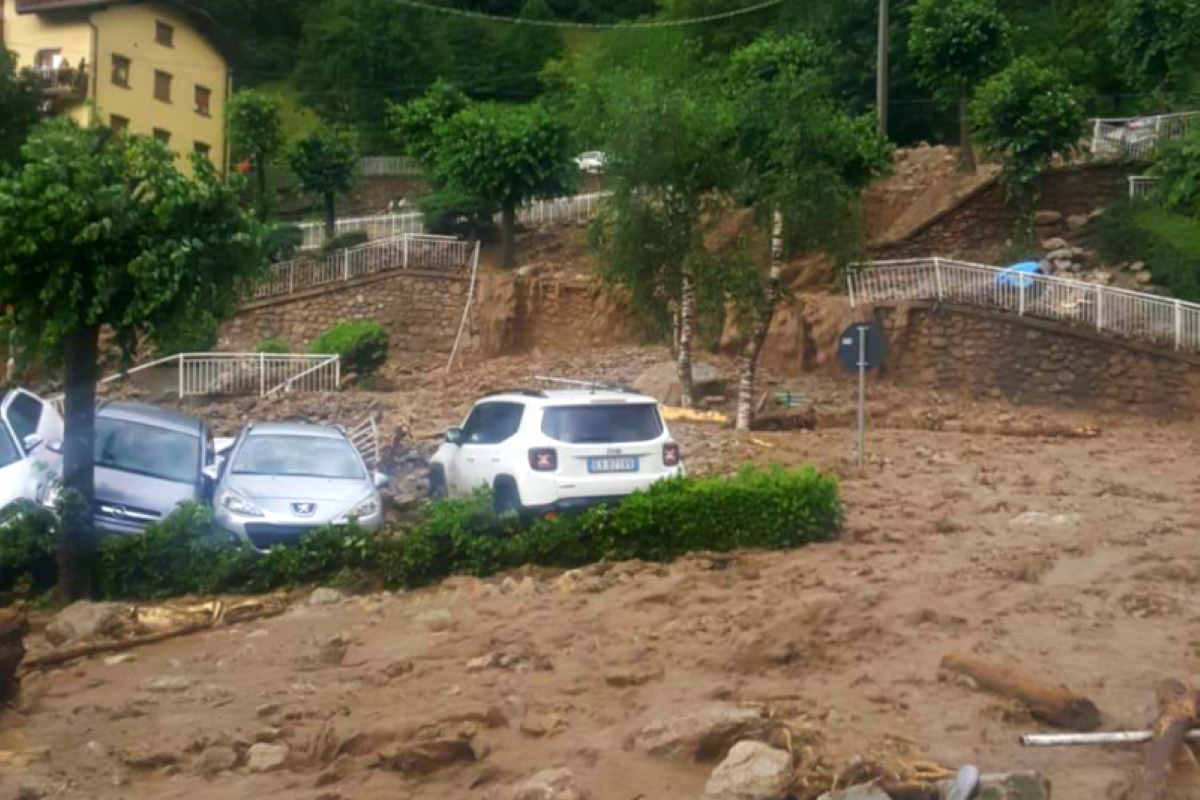 Danni in provincia di Lecco per il maltempo, nuova allerta in tutto il nord anche per mercoledì