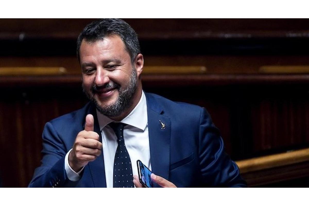 Matteo Salvini lo sterminatore delle Stelle