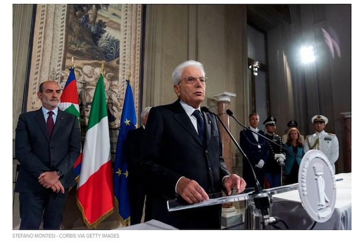 Crisi di Governo L'ultimatum del Presidente Mattarella