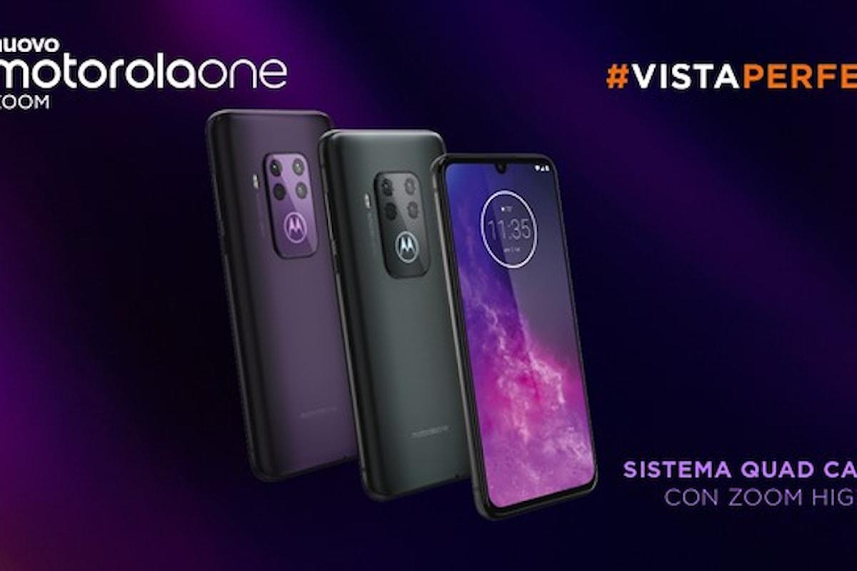 Motorola One Zoom presentato ufficialmente: uno smartphone di fascia media che ha tutto quel che serve!