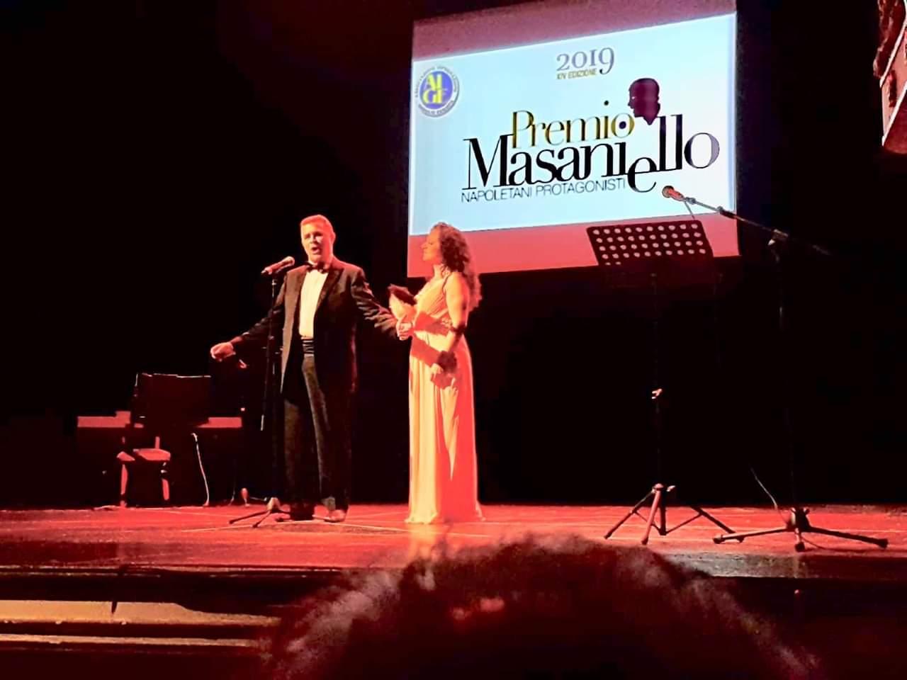 Al duo lirico De Maio Lupoli il Premio Masaniello 2019