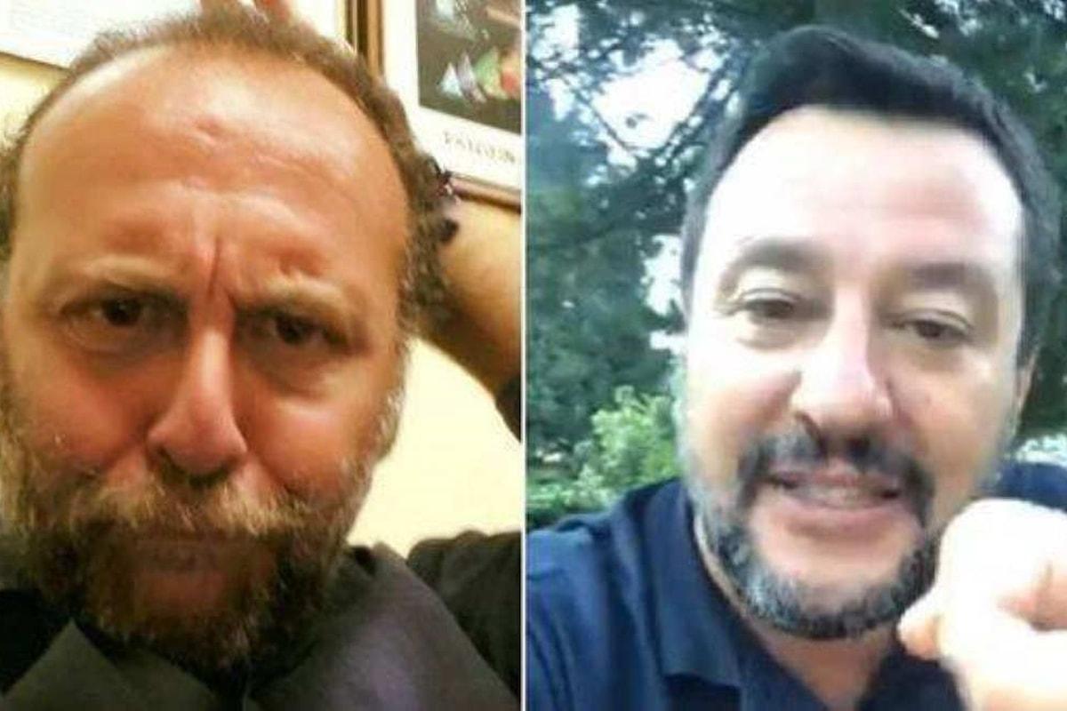 Salvini: un giornalista Rai mi ha detto che mi devo suicidare! L'ennesima bugia del capitano