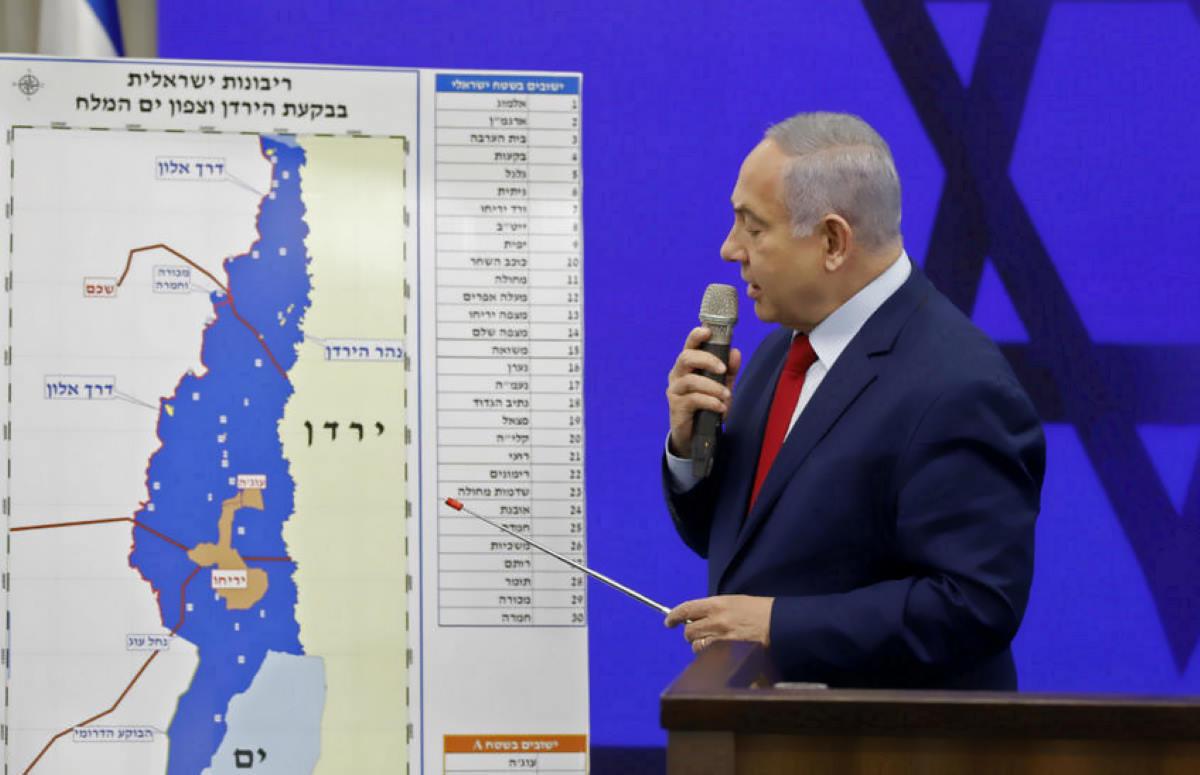 Netanyahu: se vincerò annetterò ad Israele la Valle del Giordano
