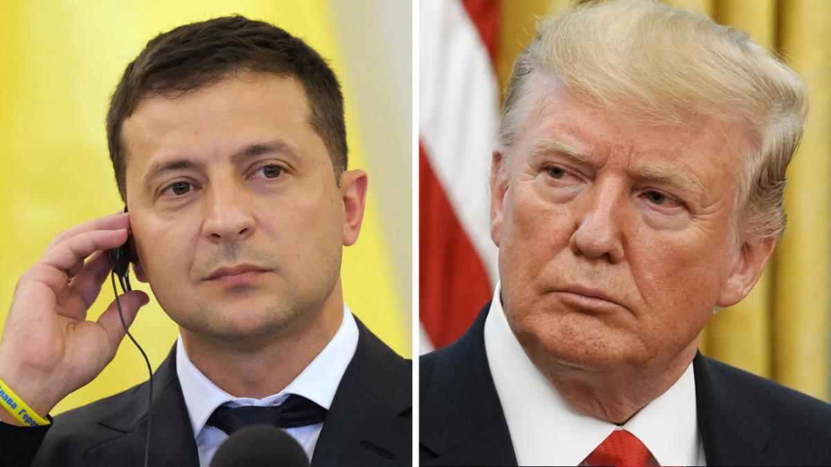 Il contenuto della telefonata tra Trump e Zelevsky