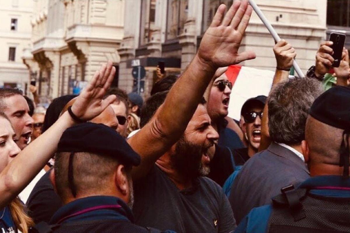 Forza Nuova chiama in piazza i camerati per protestare contro Zuckerberg
