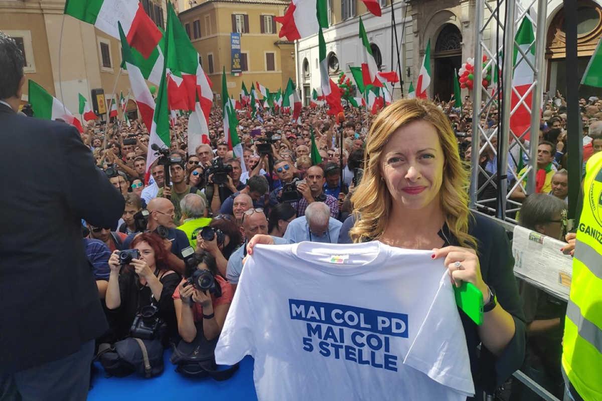 Conte 2: fiducia alla Camera e sovranisti (e fascisti) in piazza