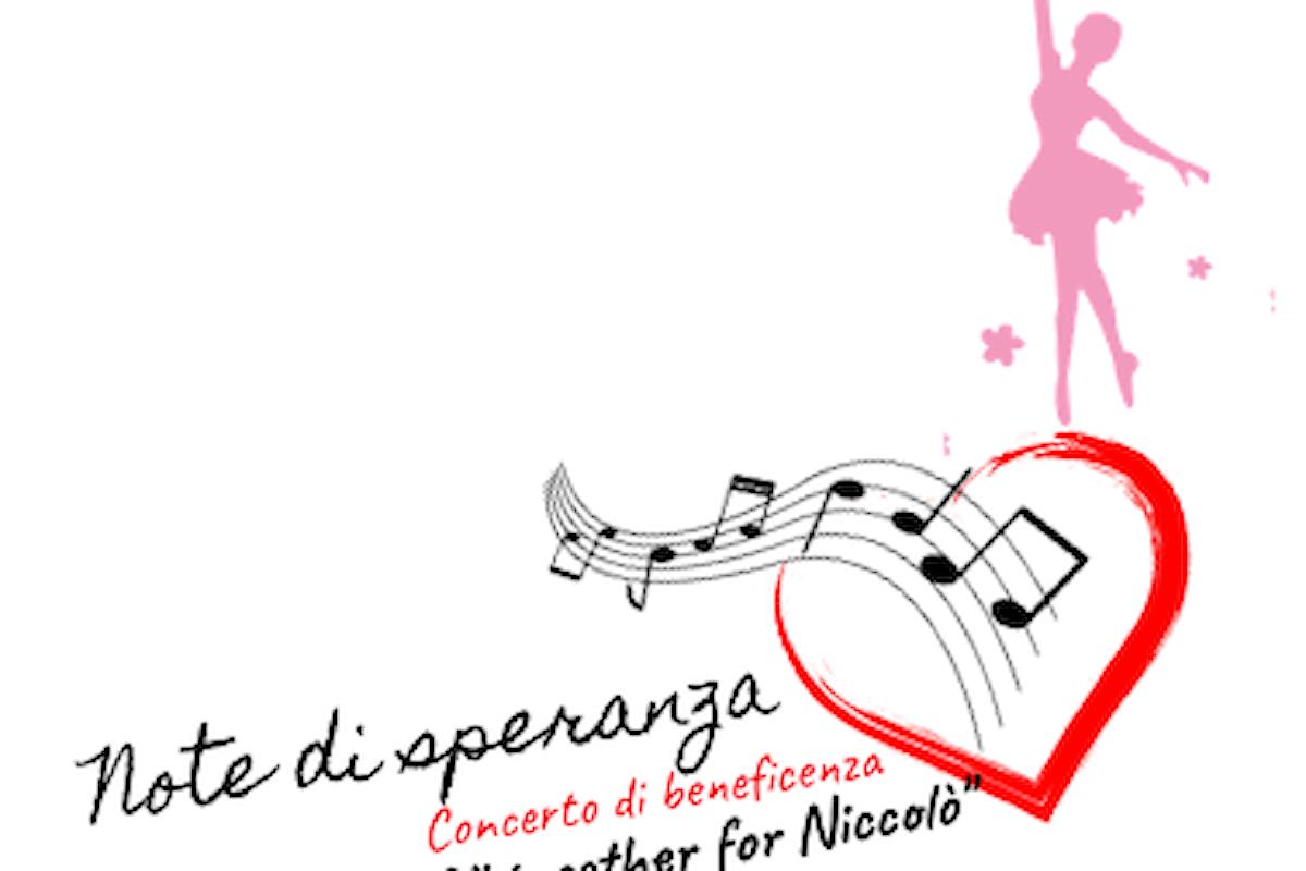 NOTE DI SPERANZA, concerto musicale di beneficenza