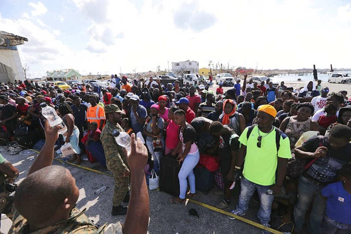 Bahamas, è crisi umanitaria
