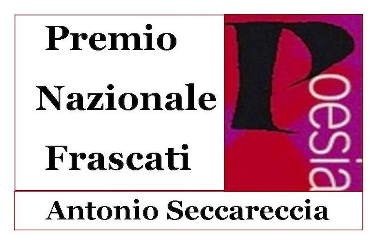 I Finalisti della 59.ma Edizione Premio Nazionale Frascati Poesia Antonio Seccareccia