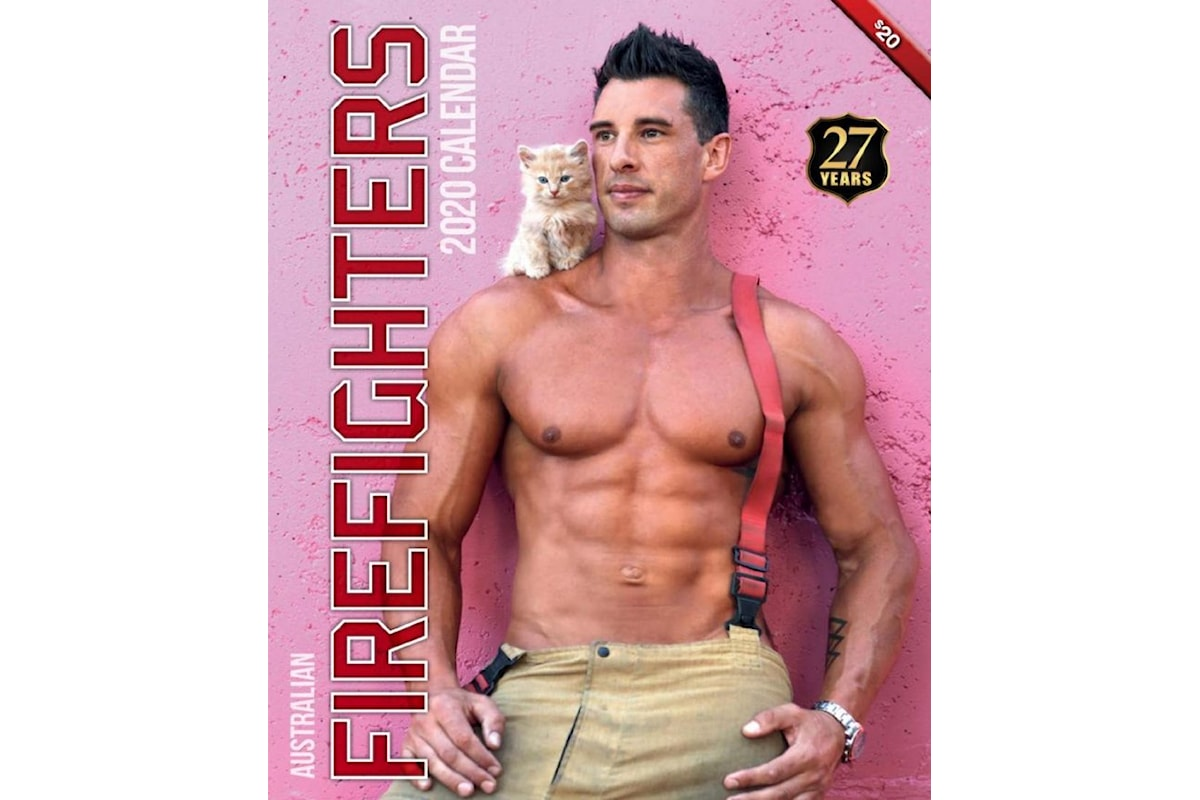 Calendario 2020 degli Australian Firefighters... tutto per beneficenza
