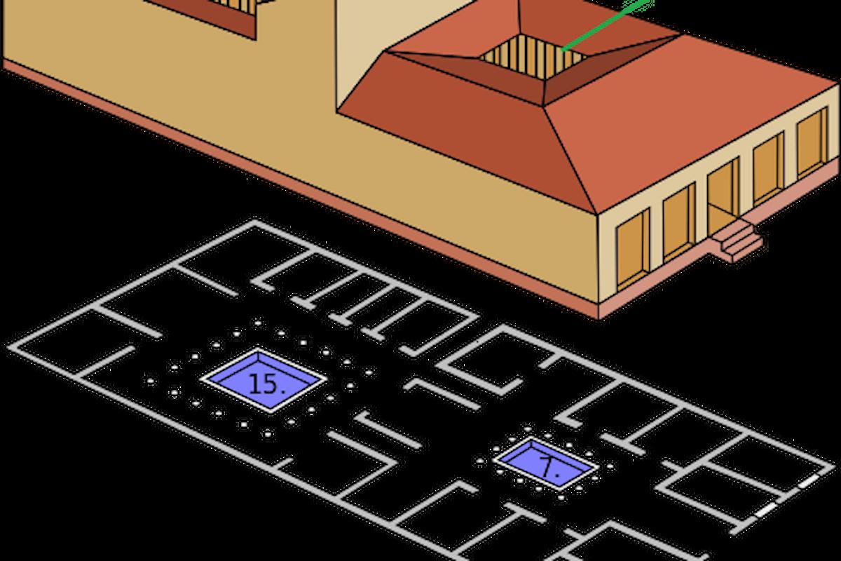 Le antiche case romane - Parte 2