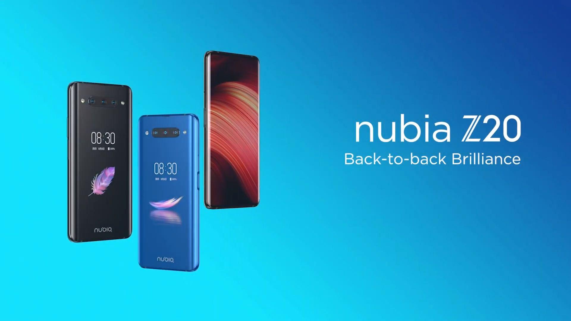 Nubia Z20 arriva ufficialmente in Italia: niente notch, fori o meccanismi pop-up, ma due display