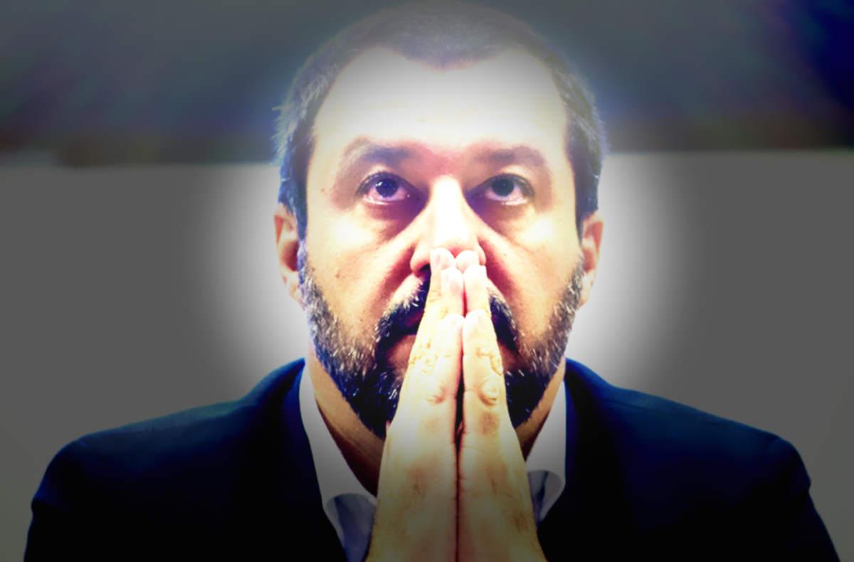 San Giovanni Paolo II ovvero le citazioni a sproposito del cattolico nazionalista Matteo Salvini
