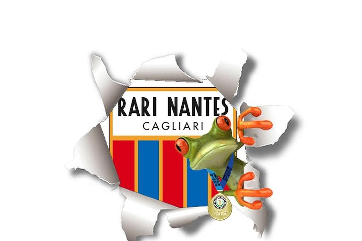 Cagliari. Nuoto Master la Rari Nantes al primo posto al Sardinia in Water 2