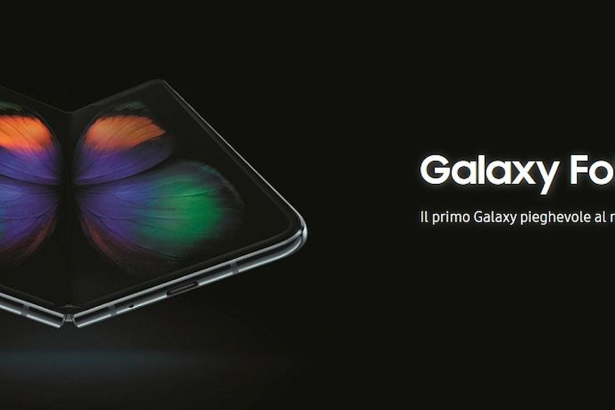 Galaxy Fold arriva in Italia: da ora disponibile anche da noi il primo dispositivo con Infinity Flex Display