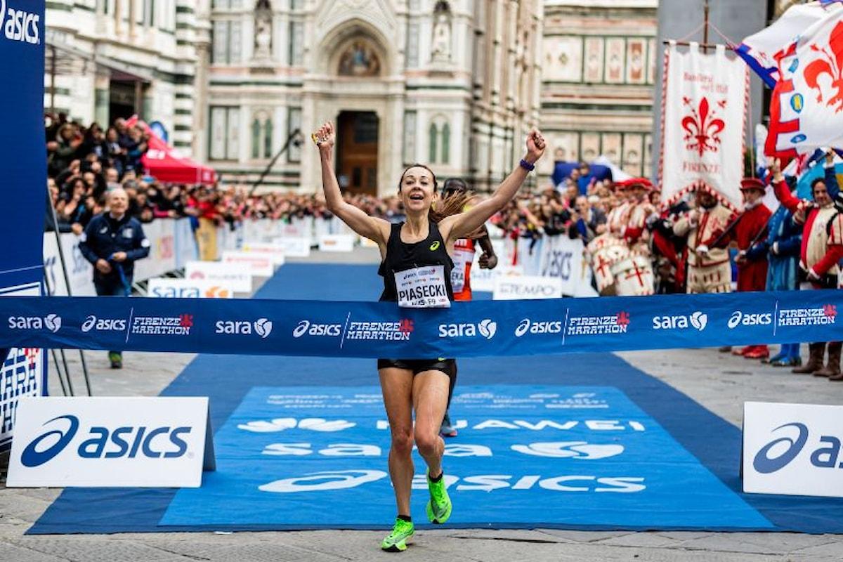 Firenze Marathon 2019: vincono Bekele e la debuttante inglese Piasecki. Elisa Stefani e Alessio Terrasi primi italiani Il pratese Giagnoni fa il poker e il primato personale fra i diversamente abili