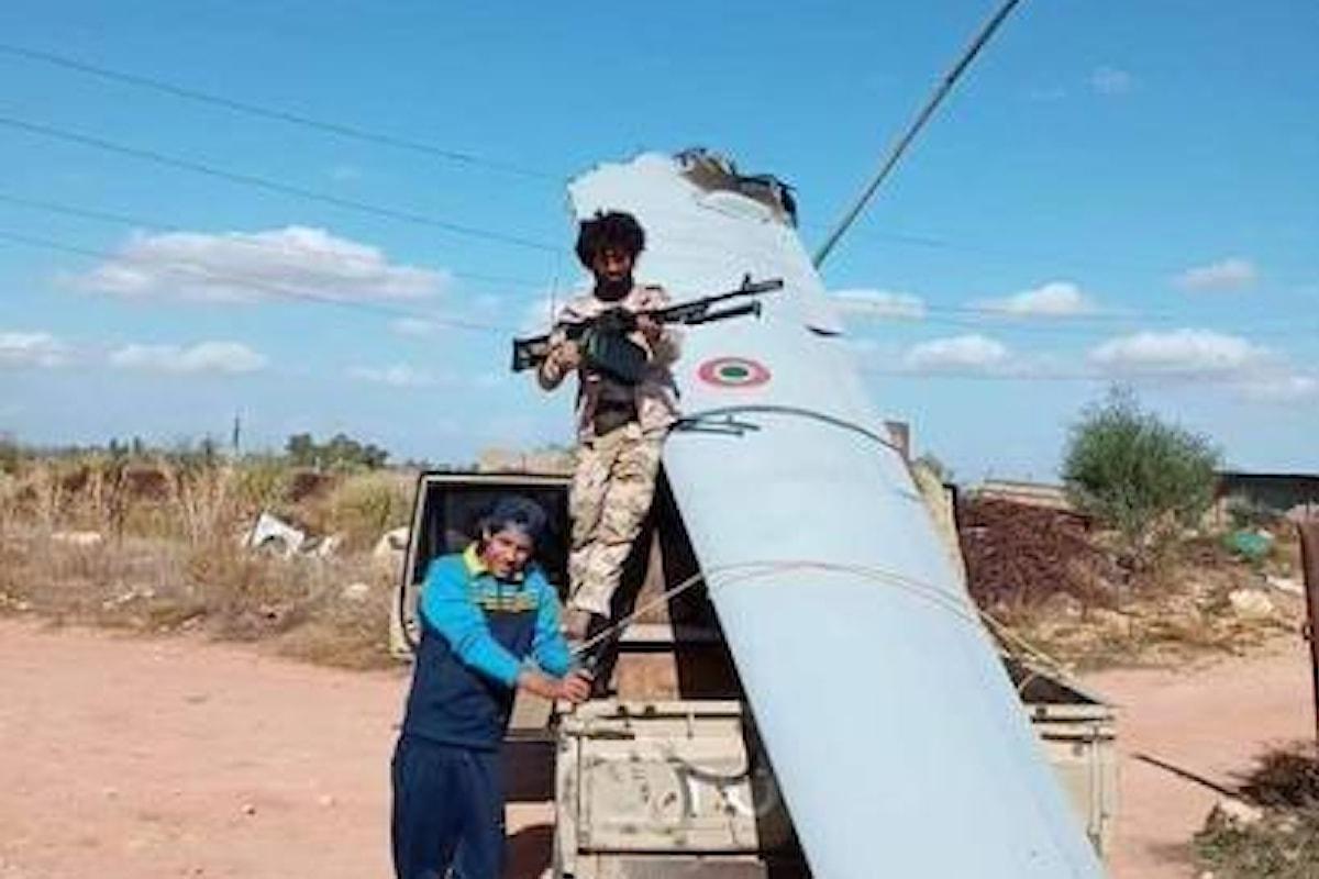 Libia: drone italiano abbattuto dalle milizie del generale Haftar?