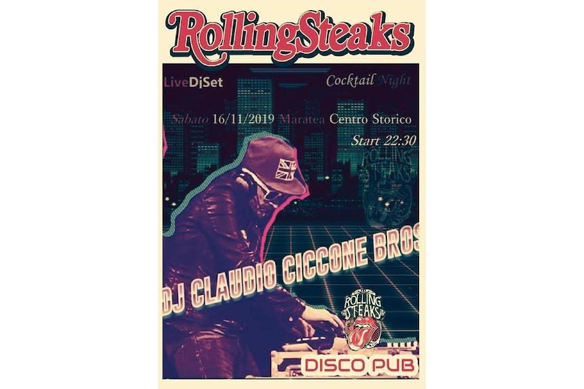 LondonModernFlashBack&CocktailVibes con Dj Claudio Ciccone Bros.@RollingSteaksDiscoPub
