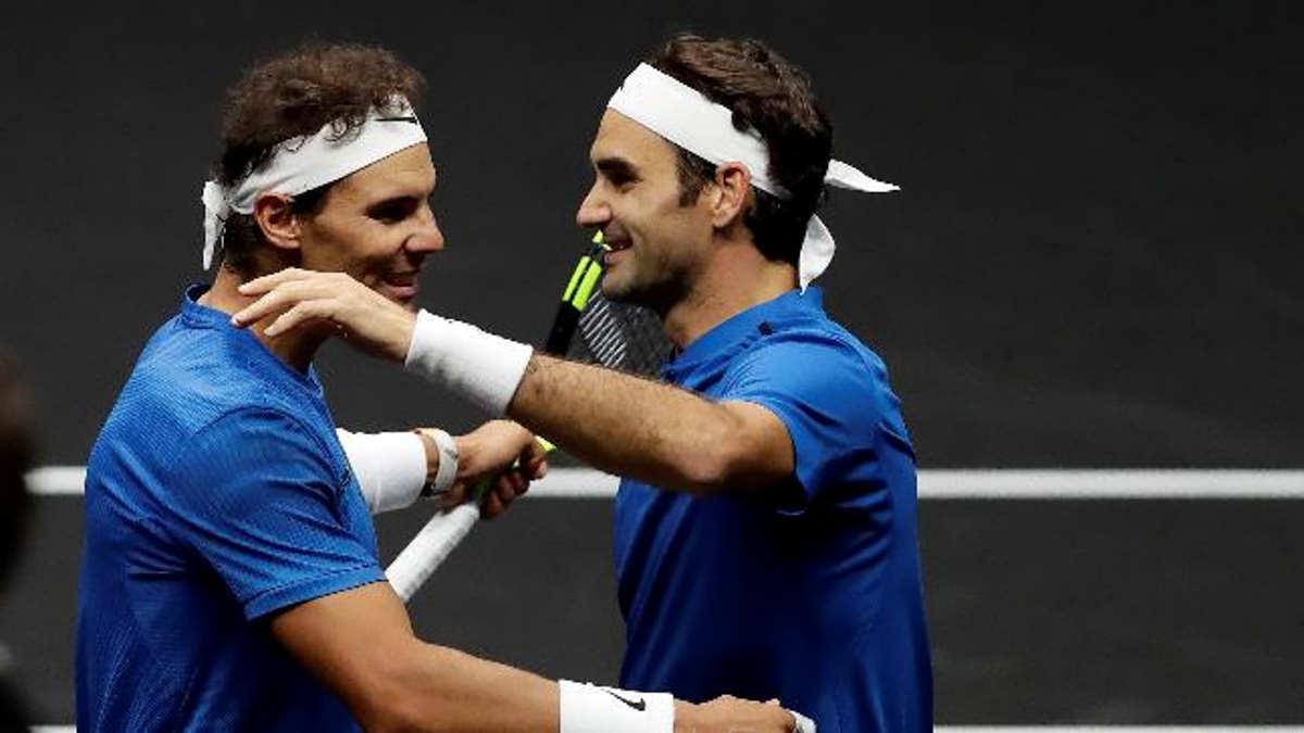 Roger Federer esalta Rafa Nadal: E' un grande amico e un grande campione, un esempio per tutto lo sport