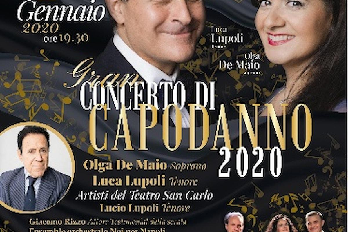 Un Salotto in musica, canto e danza atteso al Teatro delle Palme con il Concerto di Capodanno di Noi per Napoli