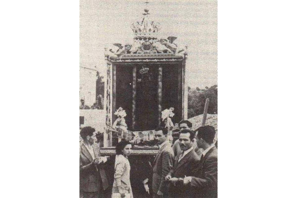 A Careri (RC) si festeggia la festa del miracolo per ricordare il 111esimo anniversario del terremoto che distrusse Messina, Reggio e molti paesi della della Sicilia e della Calabria