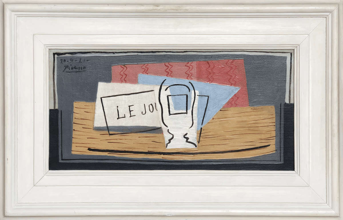 Picasso: il dipinto Nature Morte in palio ad una lotteria di beneficenza
