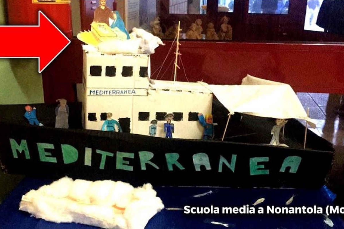 Bibbiano e il presepe di Nonantola... Salvini ha perso il controllo