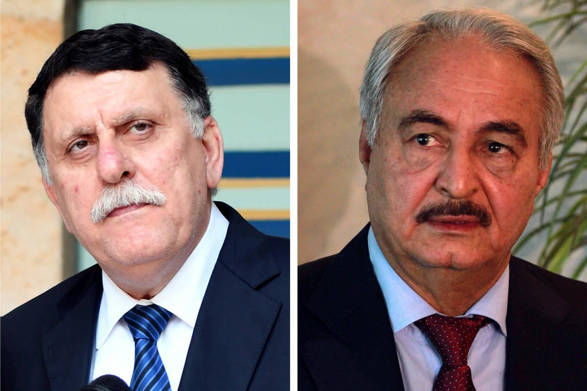 Haftar lascia Mosca senza firmare l'accordo di tregua con al Serraj