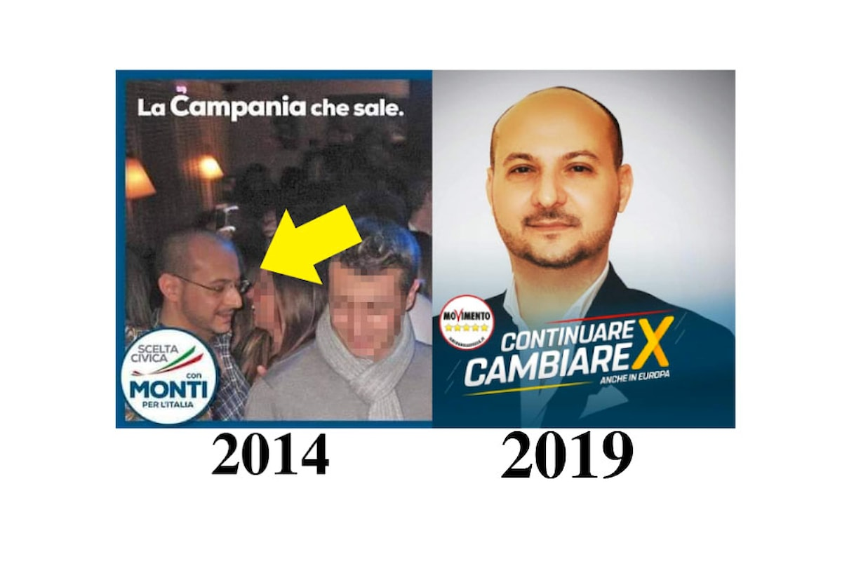 Per parlamentari e dirigenza 5 Stelle, a Napoli tutto ok... ma la realtà è altra: Errare humanum est, perseverare autem diabolicum