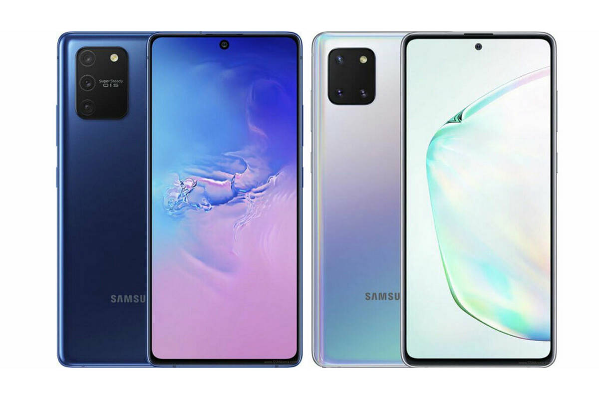 Galaxy Note 10 Lite e Galaxy S10 Lite annunciati ufficialmente
