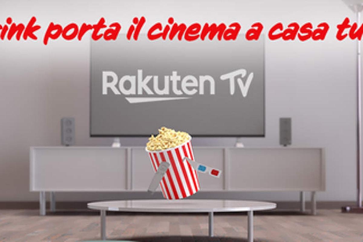Promozione Prink Rakuten: Prink porta il cinema a casa tua