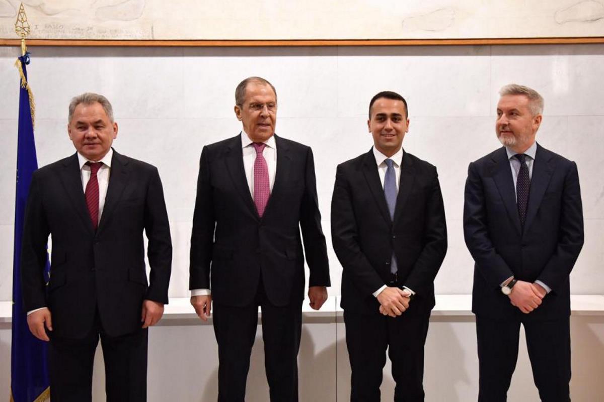 Riunione dei Ministri degli Esteri e della Difesa della Repubblica Italiana e della Federazione Russa