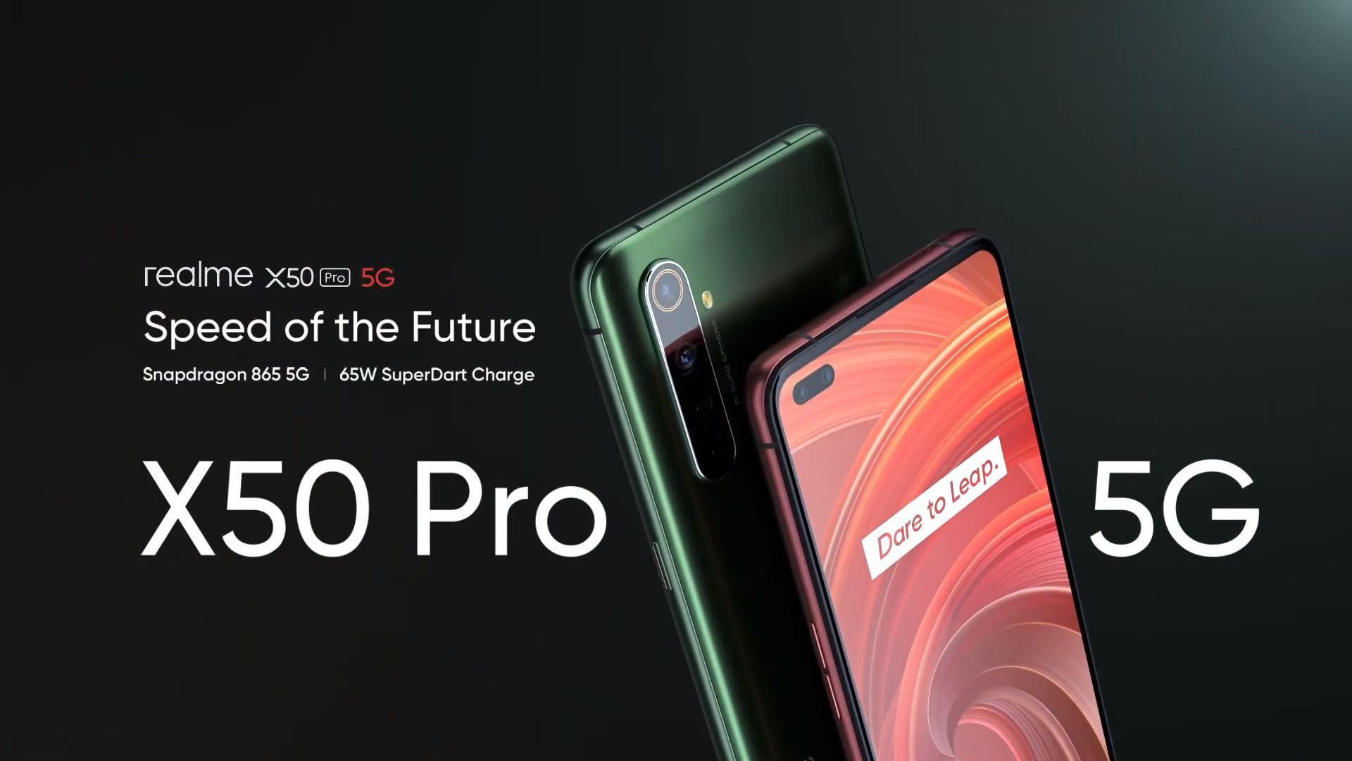 Realme X50 Pro 5G presentato ufficialmente: tanta potenza, 5G, quad camera da 64MP e tanto altro