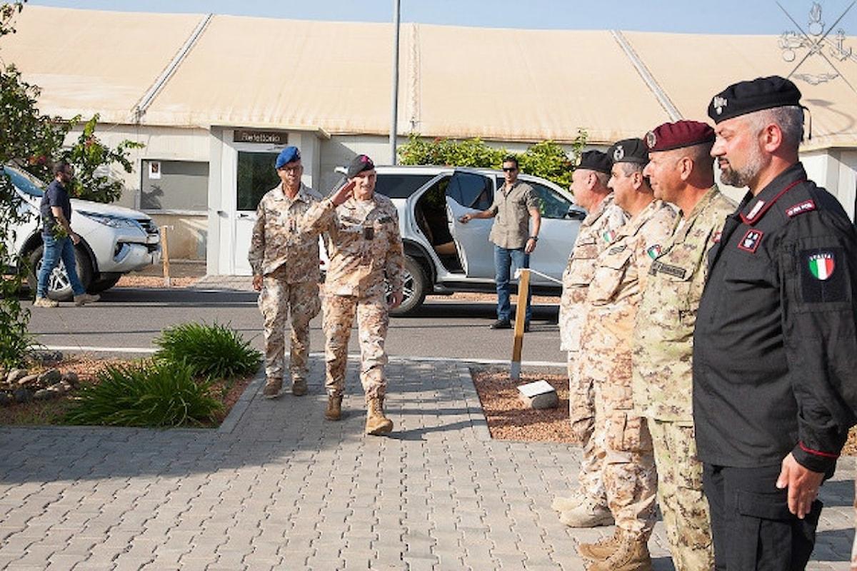 Gibuti, il Generale Portolano elogia i militari italiani: Vanto ed orgoglio per tutta la Nazione